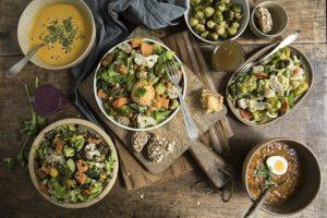 Organic Salad Bar